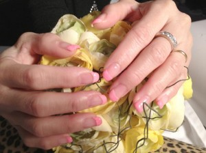 ongles-shellac-rose